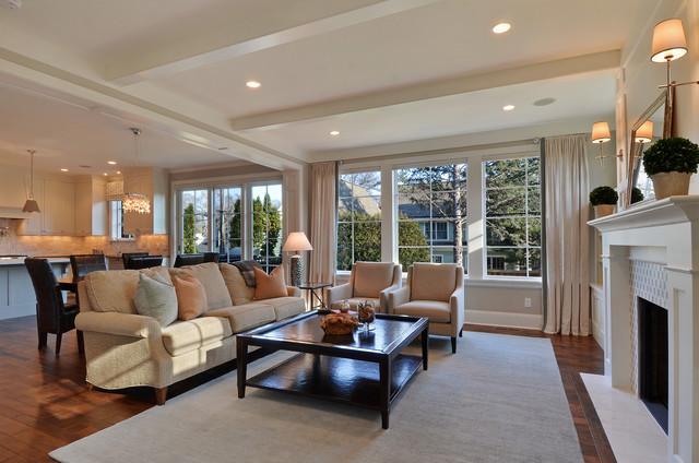 Great Neighborhood Homes Traditional Living Room