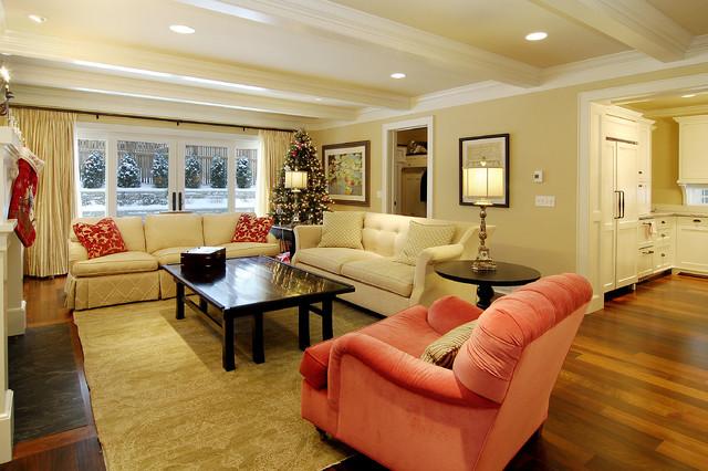 Great Neighborhood Homes traditional-living-room