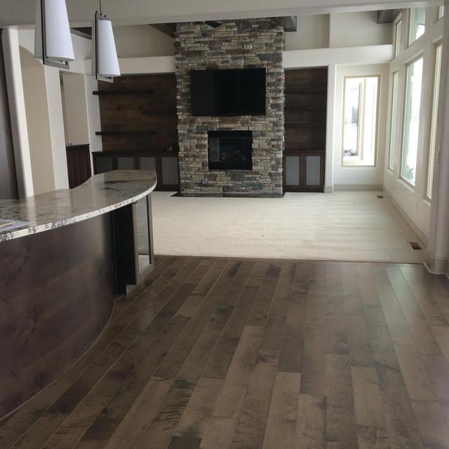 Hardwood Floors Living Room: Great Room Featuring Moderno, Camden Engineered Hardwood