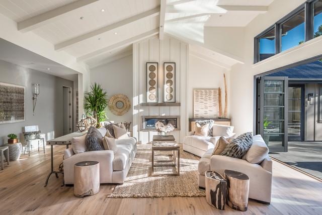 Great Room - Farmhouse - Living Room - San Francisco - by Joseph ...
