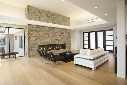 Modern Living Room by San Francisco Architects & Building Designers Mark English Architects, AIA