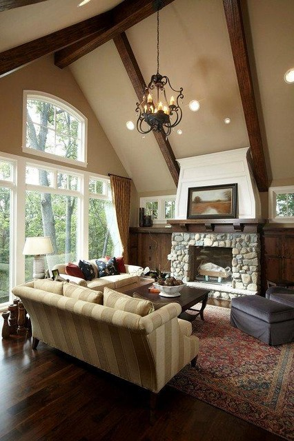 Great Room traditional-living-room