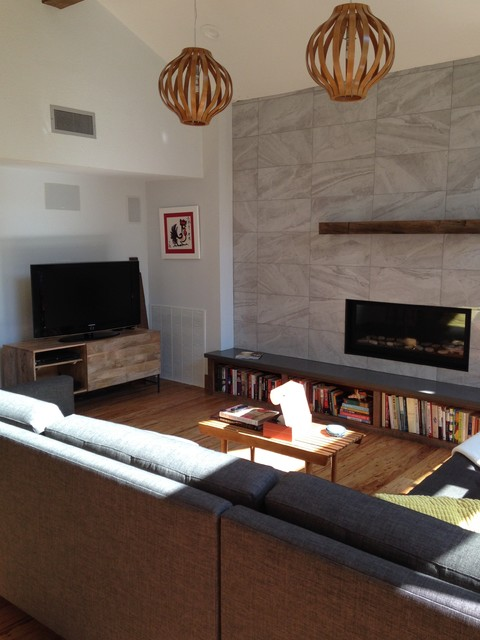 Great room upgrade contemporary living room austin for Living room upgrades