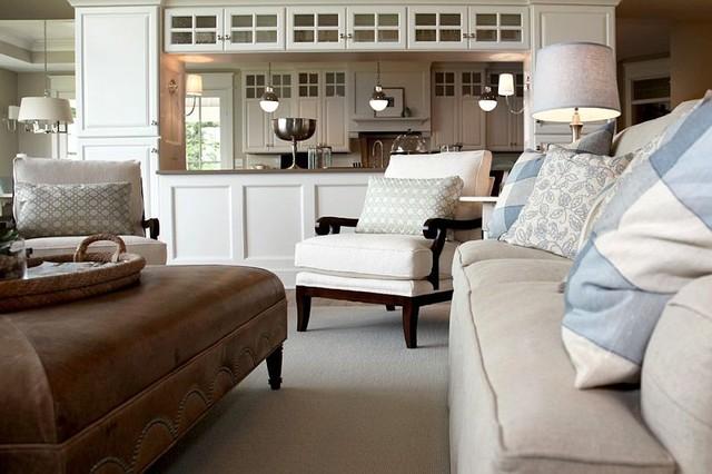 Green Lake transitional-living-room