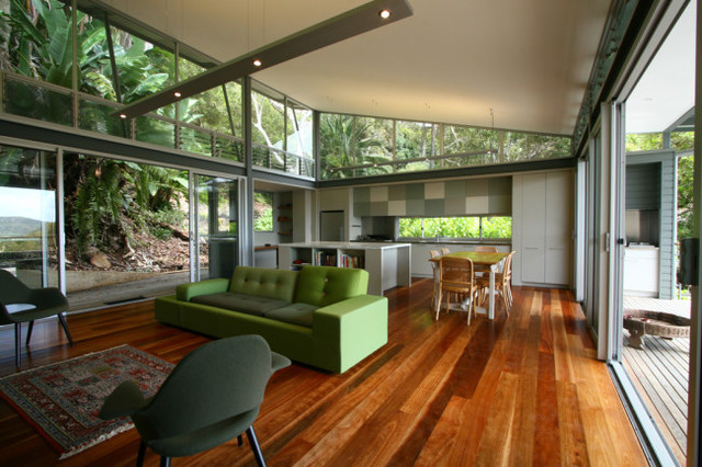 Greenhouse Living At Palm Beach By Tanner Kibble Denton Architects  Contemporary Living Room