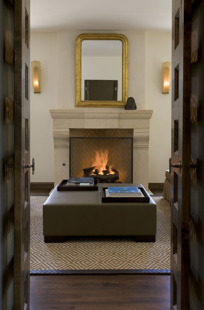 Greenlee Fireplace traditional-living-room