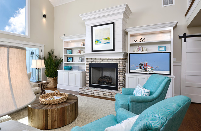 Greensward kiawah beach style living room charleston by harper construction inc Kitchen bath design center bedford hills ny