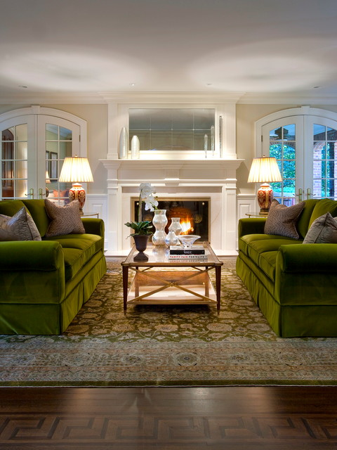 Living Room Designs Traditional: Greenwich Estate