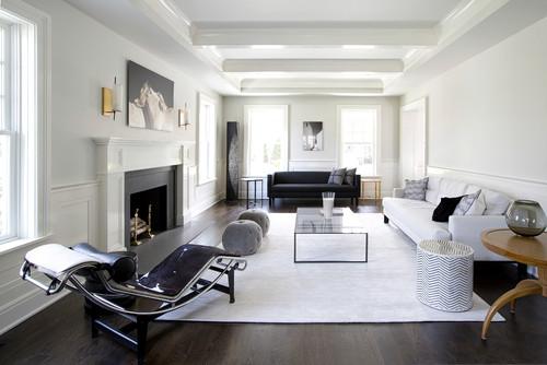 salon avec un tapis