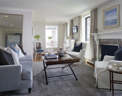 Greenwich Penthouse transitional-living-room