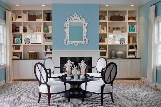 Greenwich Residence traditional-family-room