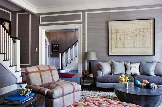 greenwich transitional living room. Black Bedroom Furniture Sets. Home Design Ideas
