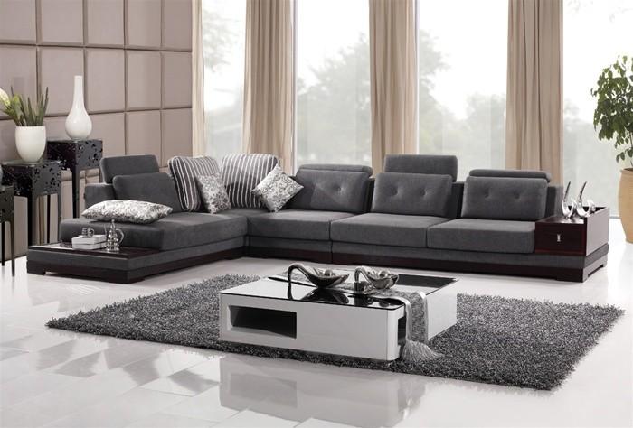 Living room - contemporary living room idea in Los Angeles