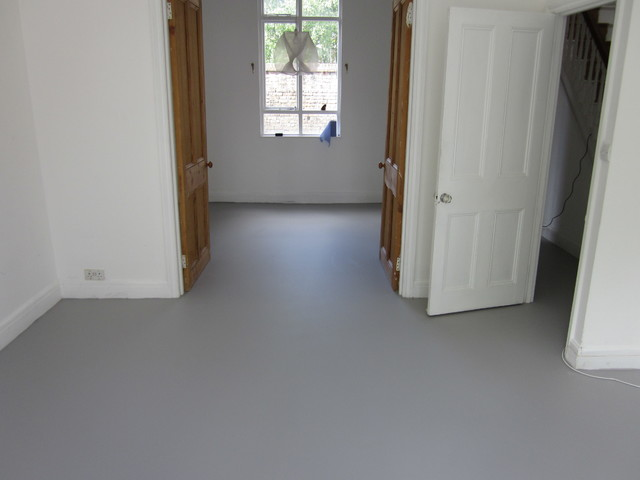 Grey Poured Resin Flooring Hartlepool Teesside Modern Living