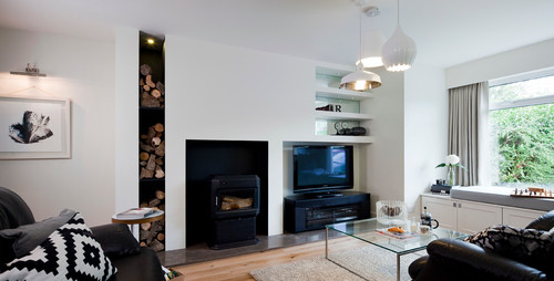 Greystones residence · photo by kingston lafferty design look for modern living room pictures