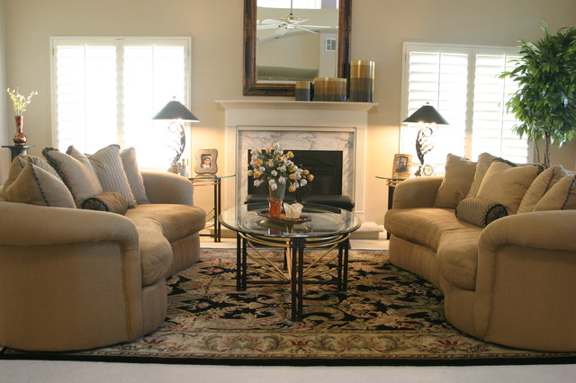 Grisell Navas contemporary-living-room