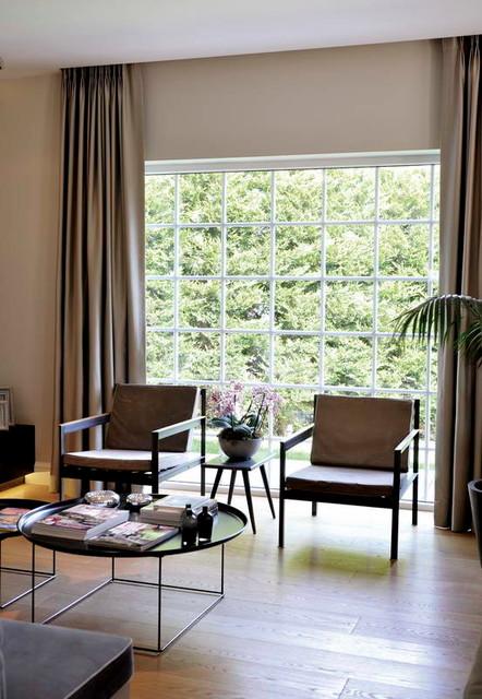 GS HOUSE contemporary-living-room
