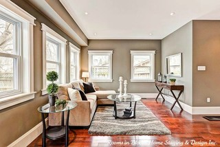 Guelph Home Staged Sold Traditional Living Room Toronto By Rooms In Bloom Home Staging