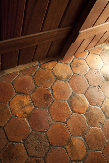 reclaimed terracotta tiles mediterranean - photo #6