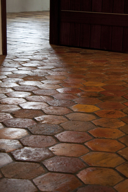 Guesthouse With Reclaimed French Terracotta Flooring And