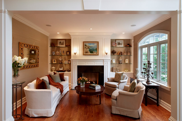 Guilford Ct Residence Traditional Living Room New York By Grande Interiors
