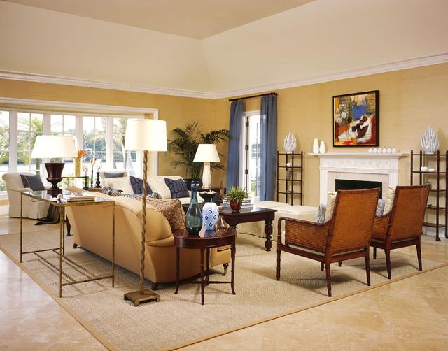 Denver Condo Warm Living Rooms