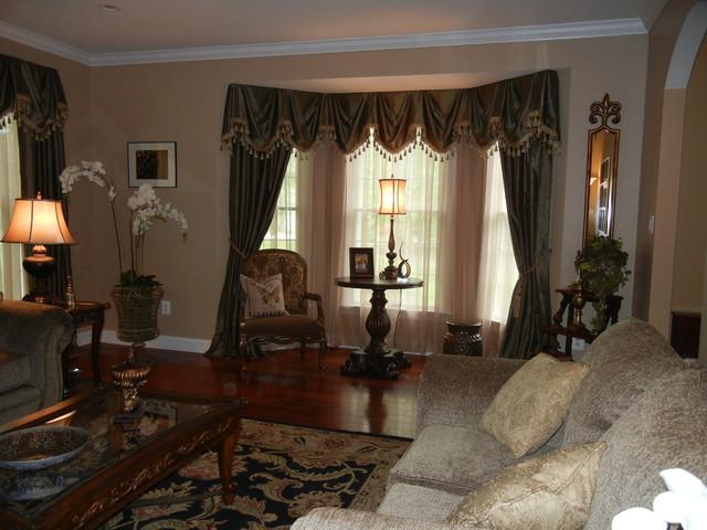 Guzzardo Living Room traditional-living-room