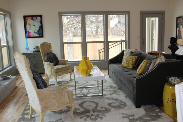 Gypsy House Design New Construction Eclectic Living Room Oklahoma City