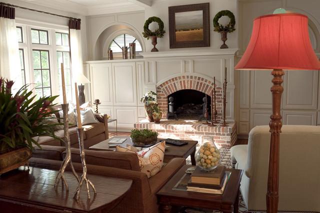 Habersham traditional-living-room