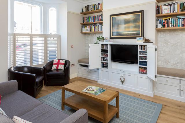 Hackney House transitional-living-room