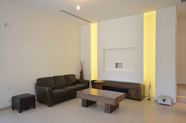 Contemporary Living Room For Newly Weds