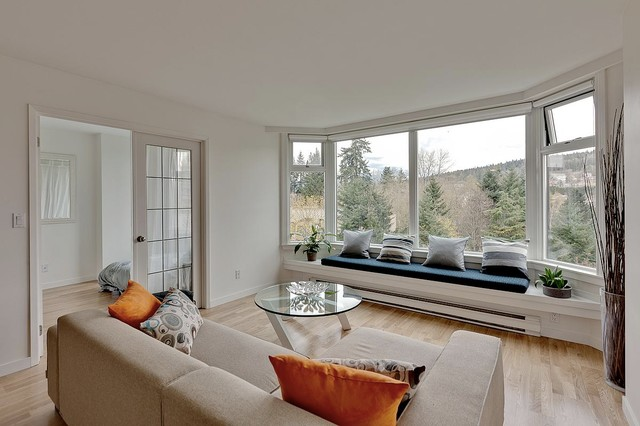 Halifax St Modern Living Room Vancouver By Mike