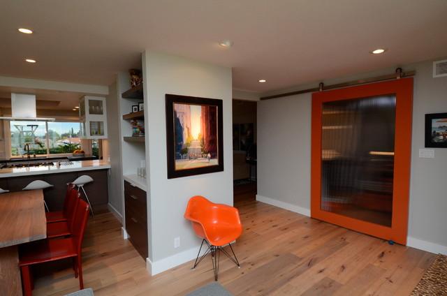 Hall modern-living-room