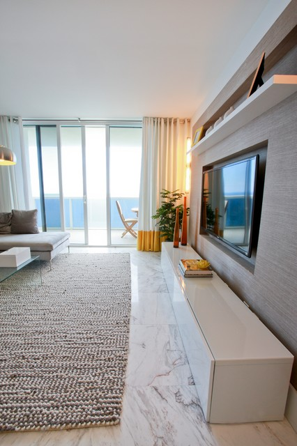Interior Designers & Decorators. Hallandale Beach Condo  contemporary-living-room