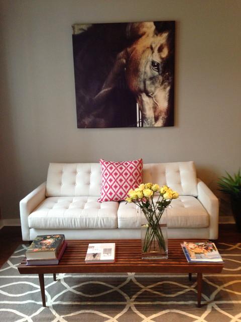 Hallie's Loft  Mid century Modern contemporary-living-room