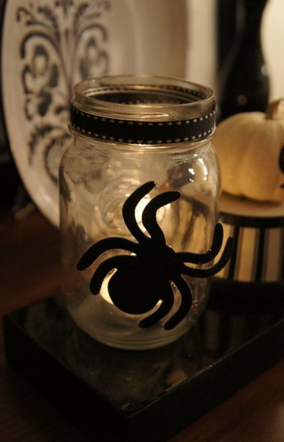 Halloween Decor eclectic-living-room