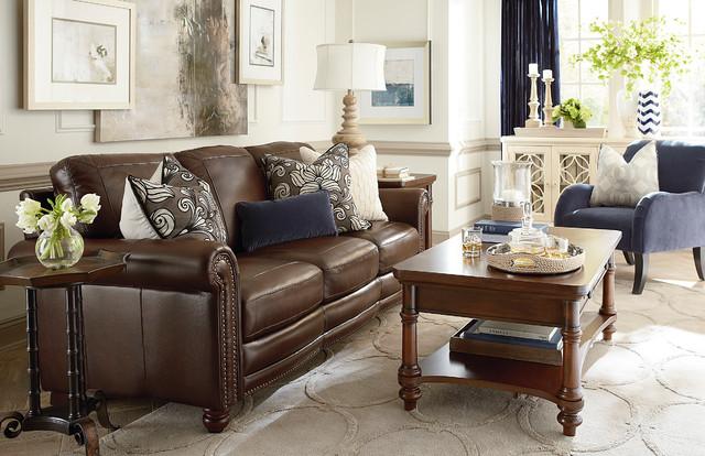 Hamilton Living Room By Bassett Furniture Traditional