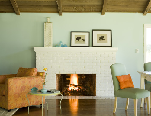 Remodelaholic best paint colors for your home mint - Soft lime green paint color ...