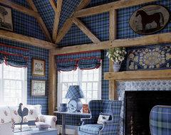 Hampton Classic eclectic-living-room