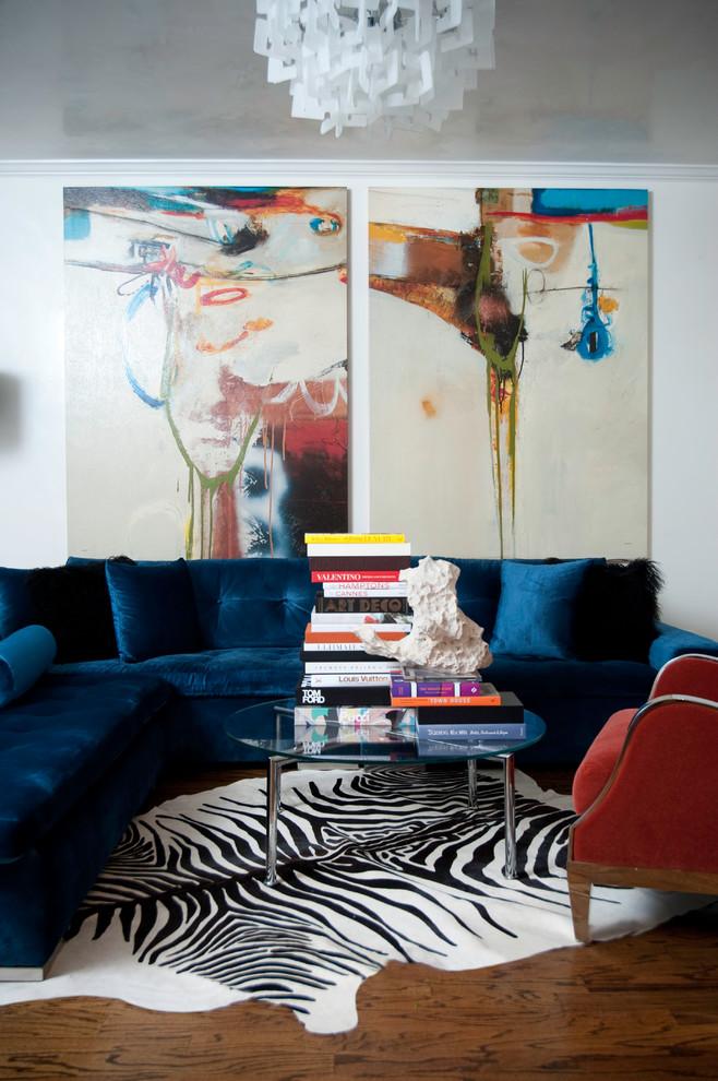 Example of a trendy formal living room design in Atlanta