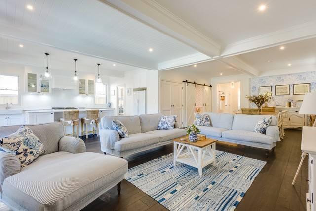 Hampton Style Beach Style Living Room Gold Coast