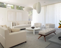 Sag Harbor Hideaway contemporary-living-room