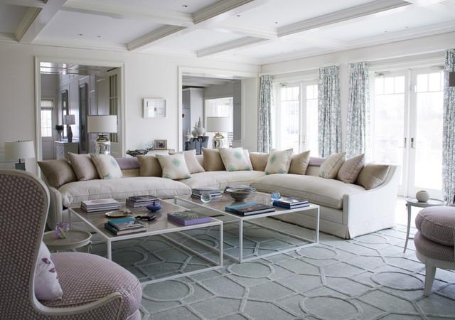 Hamptons House Coastal Living Room Part 95