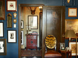 traditional living room Houzz Tour: Personal and Plaid (9 photos)