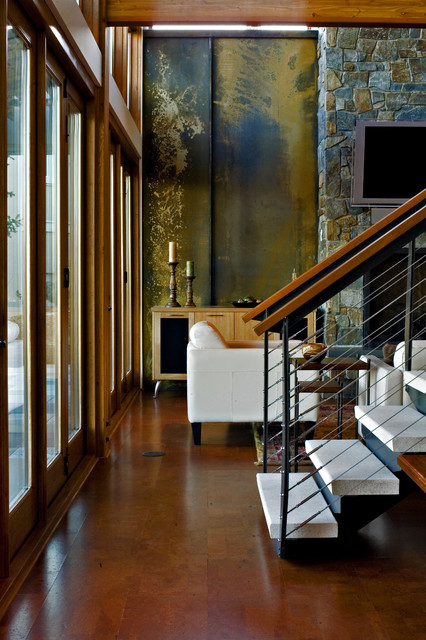 Hangman Valley Residence - Modern - Living Room - Seattle - by Uptic Studios