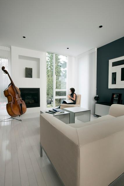 Hannon Richards Infill - Living Room contemporary-living-room