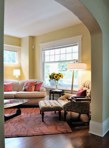 Hanrahan Residence eclectic-living-room