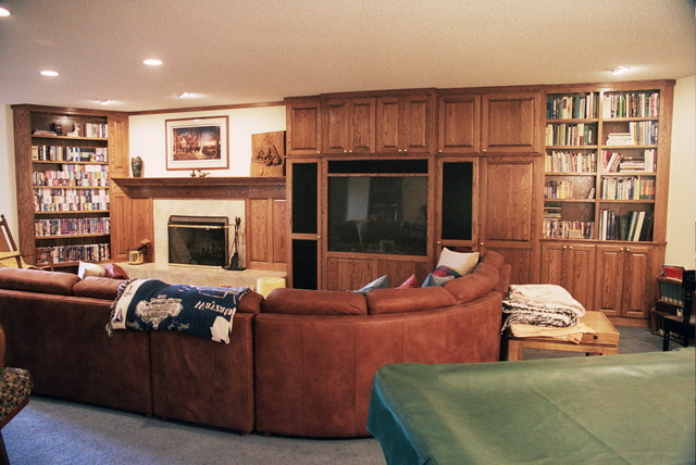 Hansen Whole-house Remodel and Additions traditional-living-room