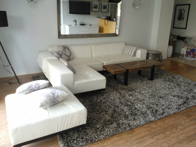 happy customers - modern - living room - los angeles -modern rugs la
