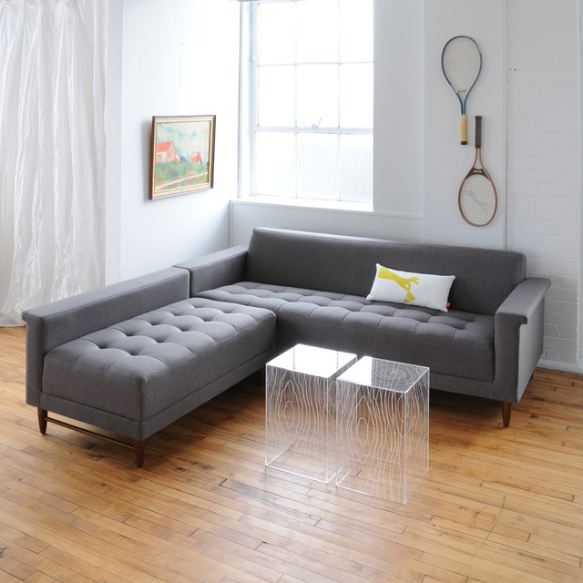 Harbord Sectional By Gus Modern Direct Furniture Modern Living Room